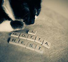 Gotta Rest #01 by Magaly Burton