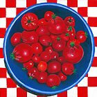 Bowl of Cherries (tomato) by Barbara  Strand