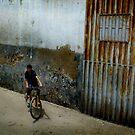 Bike Boy by Bruce  Watson