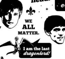 Merlin Quotes Sticker