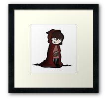 Evil Red Riding Hood Framed Print