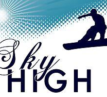 sky high snowboard by maydaze