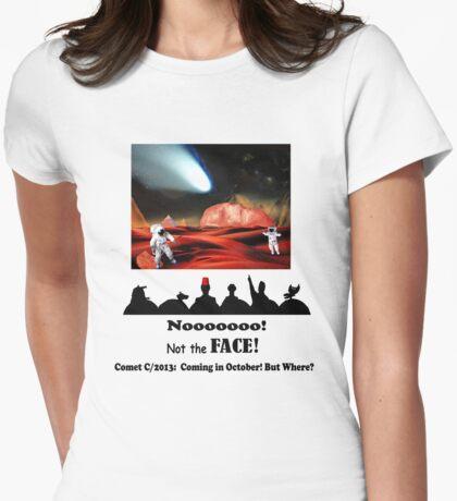 Bull's Eye! Womens Fitted T-Shirt