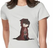Evil Red Riding Hood Womens Fitted T-Shirt