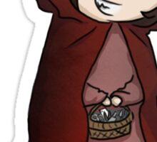 Evil Red Riding Hood Sticker
