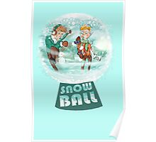 snow ball Poster