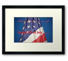 Happy 4th....... Framed Print