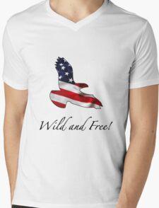 American Eagle Mens V-Neck T-Shirt