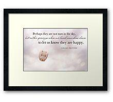 Eskimo Proverb Framed Print