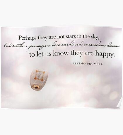 Eskimo Proverb Poster