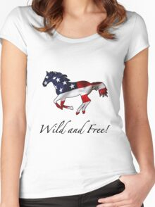 American Horse Women's Fitted Scoop T-Shirt