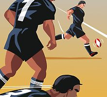 Kickoff  Rugby New Zealand by contourcreative