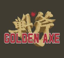 Golden Axe Logo by JDNoodles