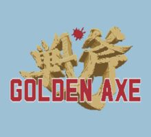 Golden Axe Logo One Piece - Short Sleeve