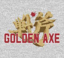 Golden Axe Logo One Piece - Long Sleeve