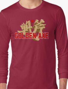 Golden Axe Logo Long Sleeve T-Shirt