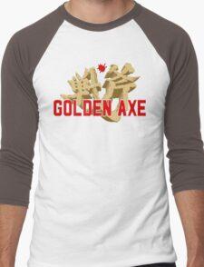 Golden Axe Logo Men's Baseball ¾ T-Shirt