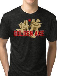 Golden Axe Logo Tri-blend T-Shirt
