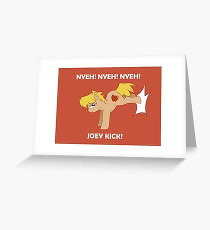 Joey Pony Greeting Card