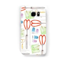 Notions - Scissors and Tools Samsung Galaxy Case/Skin