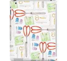 Notions - Scissors and Tools iPad Case/Skin