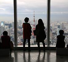 Tokyo Silhouettes  by Ben Hansen