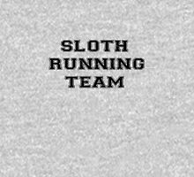'sloth running team' Womens Fitted T-Shirt