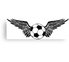 futbol wings Canvas Print