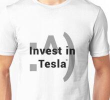 Invest In Tesla w/o Meme Unisex T-Shirt