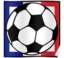 futbol : francaise square Poster