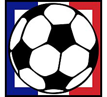 futbol : francaise square Photographic Print