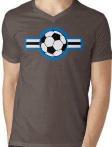 soccer airstripe Mens V-Neck T-Shirt