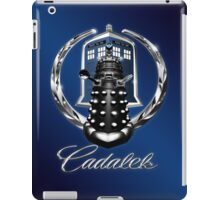 Cadalek in Tardis Blue iPad Case/Skin