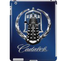 Cadalek in Tardis Blue iPad Case/Skin