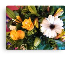 BIRTHDAY BOUQET 2013 2 Canvas Print