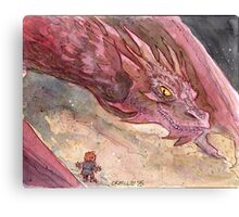 The Temptation of Smaug Canvas Print
