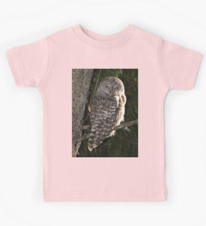 Barred Owl Forest Hike Kids Tee
