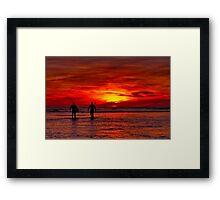 """""""Dawn Patrol"""" Framed Print"""