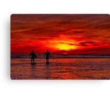"""Dawn Patrol"" Canvas Print"