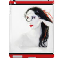 My Red Melancholy - Self Portrait iPad Case/Skin
