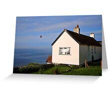 Morning Cottage ~ Lyme Regis Greeting Card