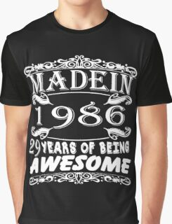 MADE IN 1986 Graphic T-Shirt