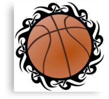 basketball tribalz Canvas Print