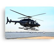 Helicopter Rides Canvas Print
