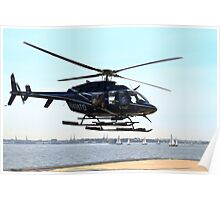 Helicopter Rides Poster