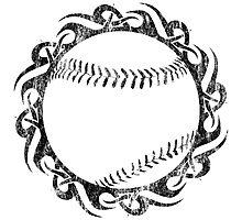 baseball tribal Photographic Print