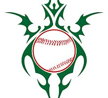 merry christmas baseball by maydaze