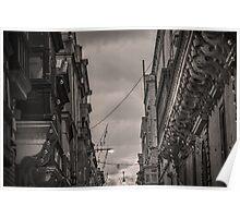 Valletta Balcony  Poster