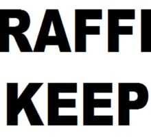 Traffic Sign Sticker