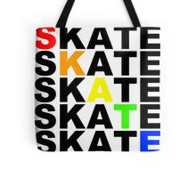 skate textstacks Tote Bag